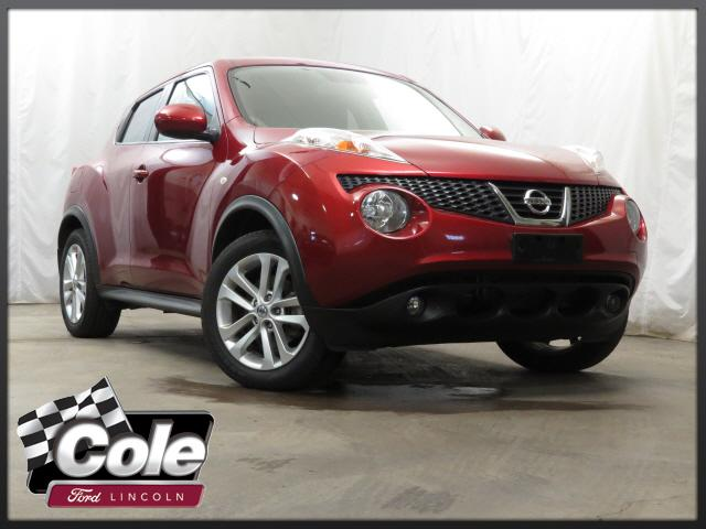 2011 Nissan JUKE 5dr Wgn I4 CVT SL AWD with Navigation & AWD