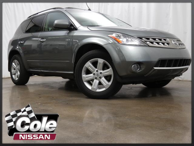 2007 Nissan Murano AWD 4dr SL with Navigation & AWD
